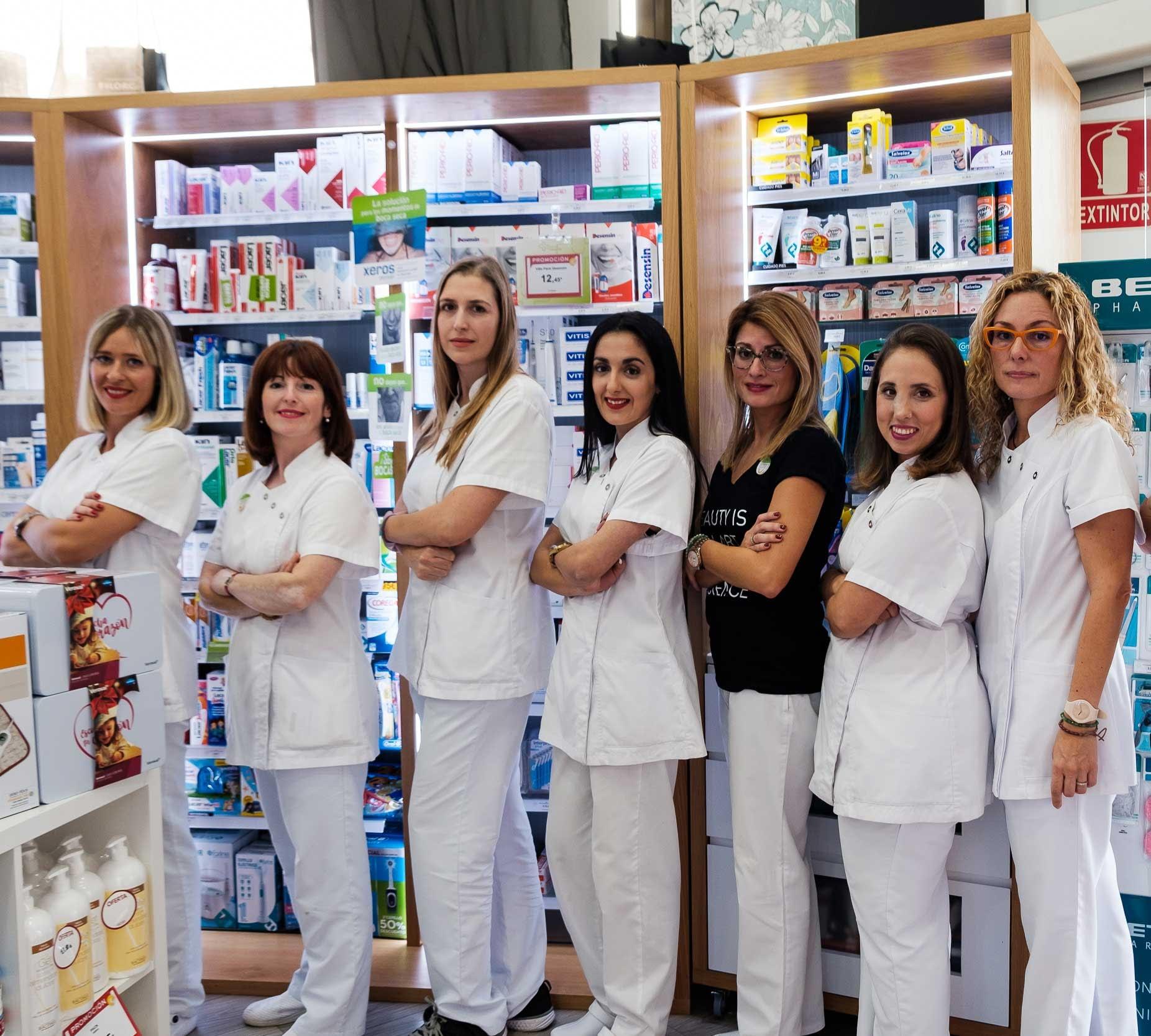 equipo farmacia Cuesta La Villa