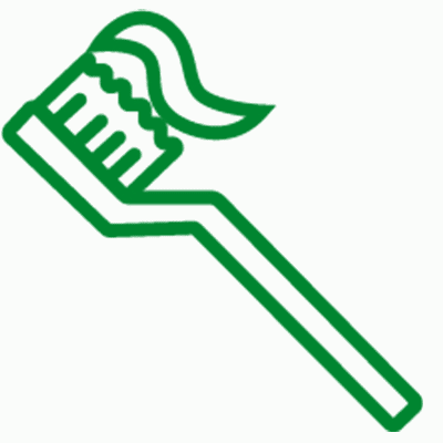 higiene dental icono